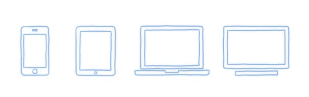 Multiscreen - four devices